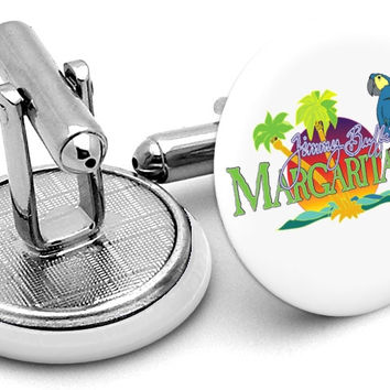 Jimmy Buffett Margaritaville Cufflinks