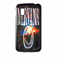 Nirvana Wood Sign Art Galaxy Nexus 4 Case