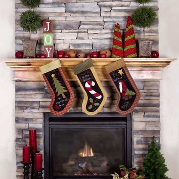FIREPLACE STOCKINGS CHRISTMAS BACKDROP - 7690-Titanium Cloth 8x8 Backdrop - LCTC7690 - LAST CALL
