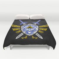 Heroes Legend - Zelda Duvet Cover by Art Et Be