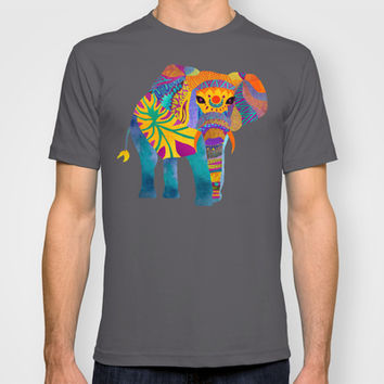 Whimsical Elephant T-shirt by Pom Graphic Design