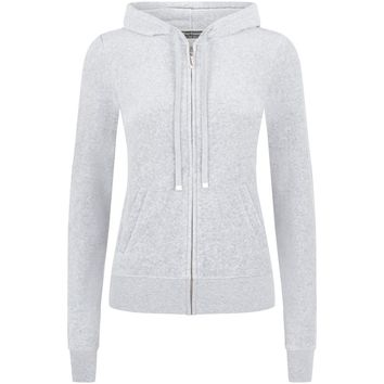 Juicy Couture J Bling Velour Hoodie | Harrods.com