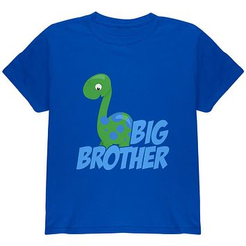 Big Brother Dinosaur Youth T Shirt