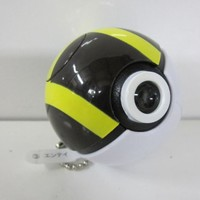 Pokemon Pokeball Light Projector Swing Keychain - Suicune