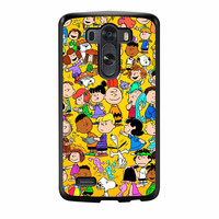 Snoopy Charly And Friends LG G3 Case