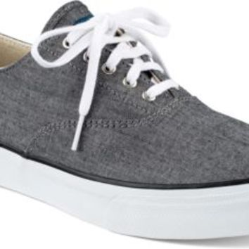 Sperry Top-Sider CVO Chambray Sneaker BlackChambray, Size 5M  Men's Shoes