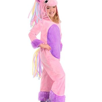 Halloween party cosplay short velvet pink my little pony unicorn princess costume jumpsuit clothes animal performance wear