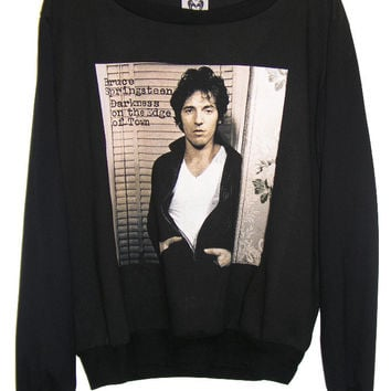 Bruce Springsteen Darkness On The Edge Of Town Jumper