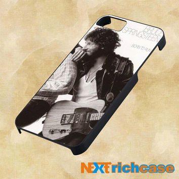 Bruce Springsteen Born To Run For iPhone, iPod, iPad and Samsung Galaxy Case