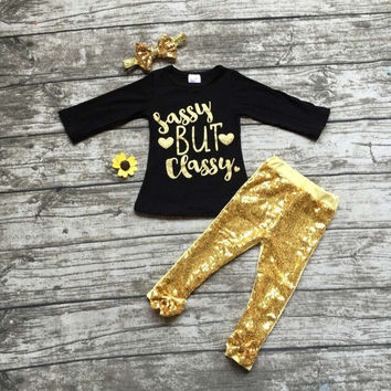In Stock- Sassy but classy Sequin pant set