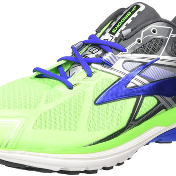 Brooks Men's Ravenna 7 Running Shoe Green Gecko/Electric Brooks Blue/Anthracite 9.5 D(M) US '