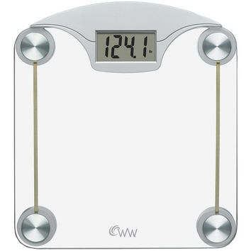 CONAIR Weight Watchers Digital Glass & Chrome Scale WW39 WW39 74108094315