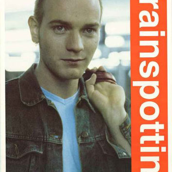 Trainspotting Ewan McGregor 1996 Movie Poster 25x35
