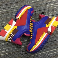 Dolce & Gabbana D&g Multi-colored Super King Sneakers Reference #1 - Best Online Sale