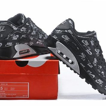 Nike Air Max 90 537384 003 Black Running Sneaker | Best Deal Online