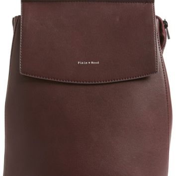 Pixie Mood Kim Convertible Faux Leather Backpack | Nordstrom
