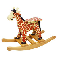 Teamson Kids- Safari Rocking Horse -Giraffe