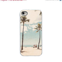 BLACK FRIDAY SALE Iphone 5 and 5s case - Oahu Hawaii Iphone case - Palm trees Iphone case - beach Iphone case - phone accessory - girly Iph