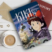Kiki's Delivery Service Movie Leather Passport Wallet Case Cover