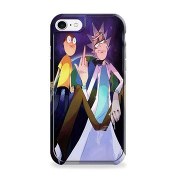 Rick and Morty Middle Finger iPhone 6 | iPhone 6S Case