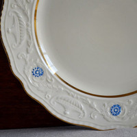 vintage Steubenville Adam Antique china dinner plate