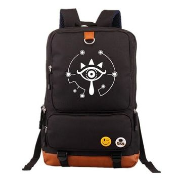 Japanese Anime Bag  The Legend of Zelda Cosplay Backpack mochila Casual Backpacks Teenagers Men Women's Student School Bags Travel Laptop bag AT_59_4