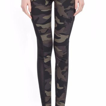 Camoflauge Reversible Leggings