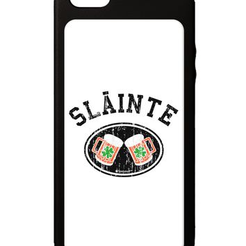 Slainte - St. Patrick's Day Irish Cheers iPhone 5C Grip Case by TooLoud