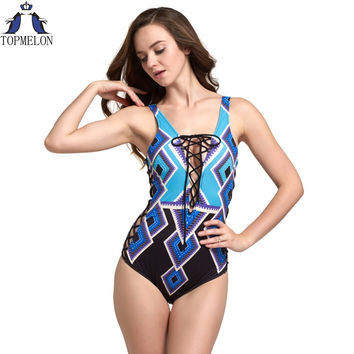 One piece swimsuit Bathing Suit  Bandage swimwear women sexy one piece swimwear bathing suits for women biquini bodysuit women
