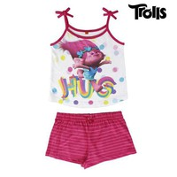 ONETOW Trolls Summer Pyjamas for Girls