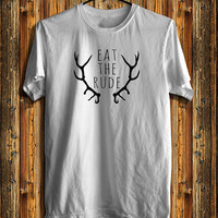 Eat The Rude Hannibal NBC Men's T-shirt, Fannibal Men's T-shirt, Awesome Shirt