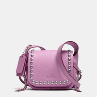 RIVETS DAKOTAH 14 CROSSBODY IN CALF LEATHER
