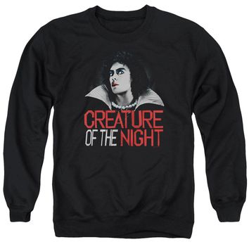 Rocky Horror Picture Show - Creature Of The Night Adult Crewneck Sweatshirt