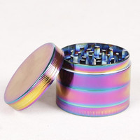 New Colorful Metal Zinc Alloy Herb Grinder