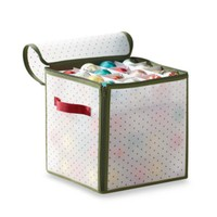 Real Simple® Holiday 64-Count Ornament Storage