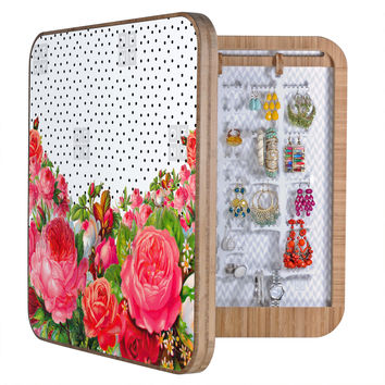 Allyson Johnson Bold Floral And Dots BlingBox