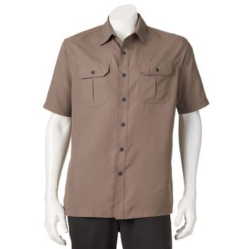 Croft & Barrow Traveler Quick-Dry Casual Button-Down Shirt