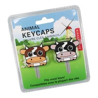 Kikkerland KR81 Cow Key Caps, Set of 2