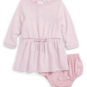 Splendid | Knit Sweater Dress & Bloomer Set (Baby Girls)
