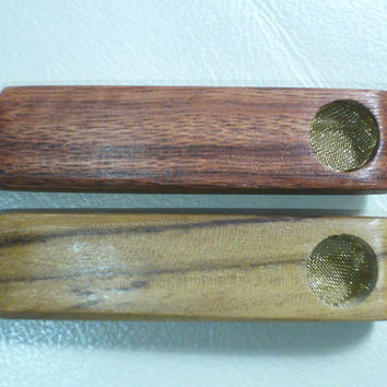 """CHEAPEST PIPES 3"""" Utility Small bowl STEAMROLLER bowl tobacco Pipes Teak and/or Macacauba - Wholesale Pricing Available turtle pipes"""