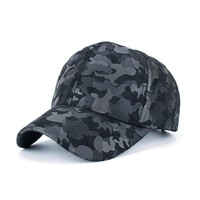 Women Men Camouflage Baseball Cap Snapback Hip Hop Flat Hat