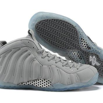 "Mens Nike Air Foamposite 1 One Pro ""Grey Suede"" 575420-007 Wolf Grey"