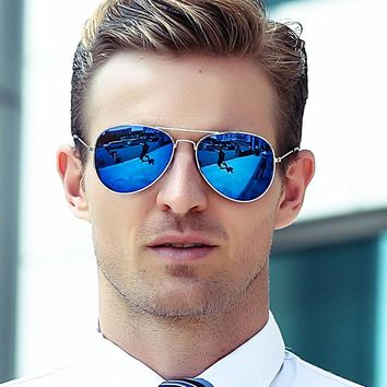 New Classic Aviator Sunglasses Men Women Successful  People Turtles Trendy Business Metal Oval Sun Glasses UV400 Metal A3-06