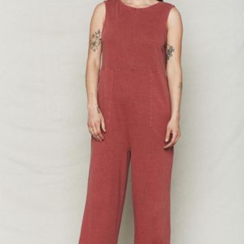 Sienna Hemp Patch Reversible Jumpsuit