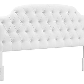 Dorel Living Lyric Button Headboard