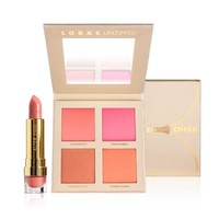 LORAC Ltd Edt Unzipped Cheek Blush Lipstick Palette