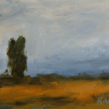 Oil Painting - Original - Honeyscolors - Eucalyptus Tree - Landscape - Abstract - Original Artwork