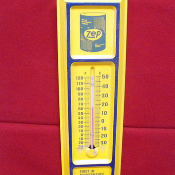 Zep tin Thermometer hanging tin sign