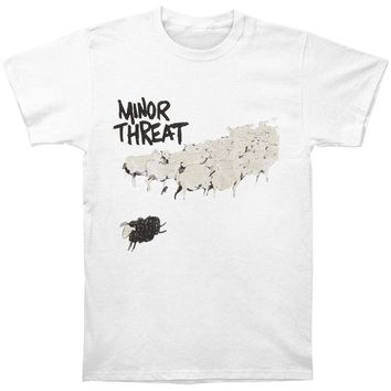 Minor Threat Men's  Out Of Step T-shirt White