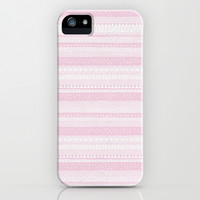 Cute Pink Aztec iPhone Case iPhone & iPod Case by PinkBerryPatterns